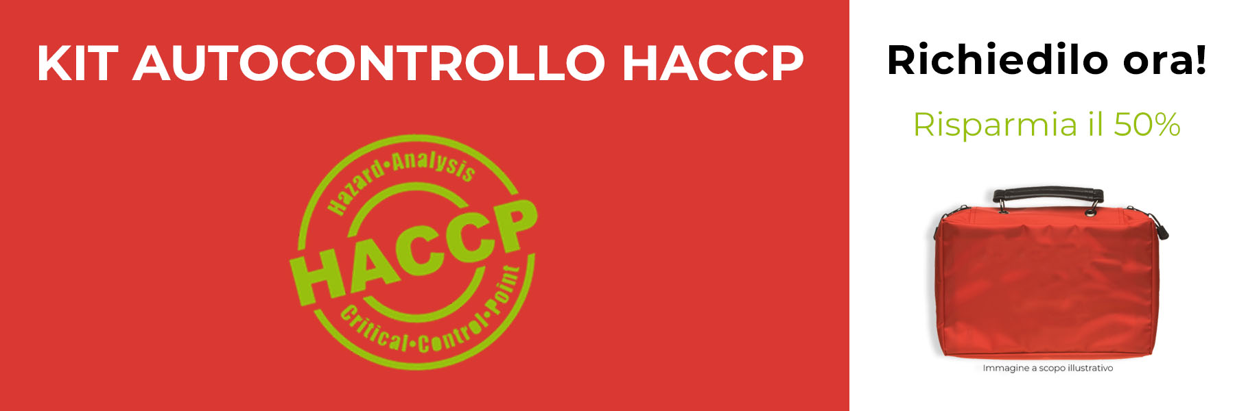 Kit autocontrollo HACCP